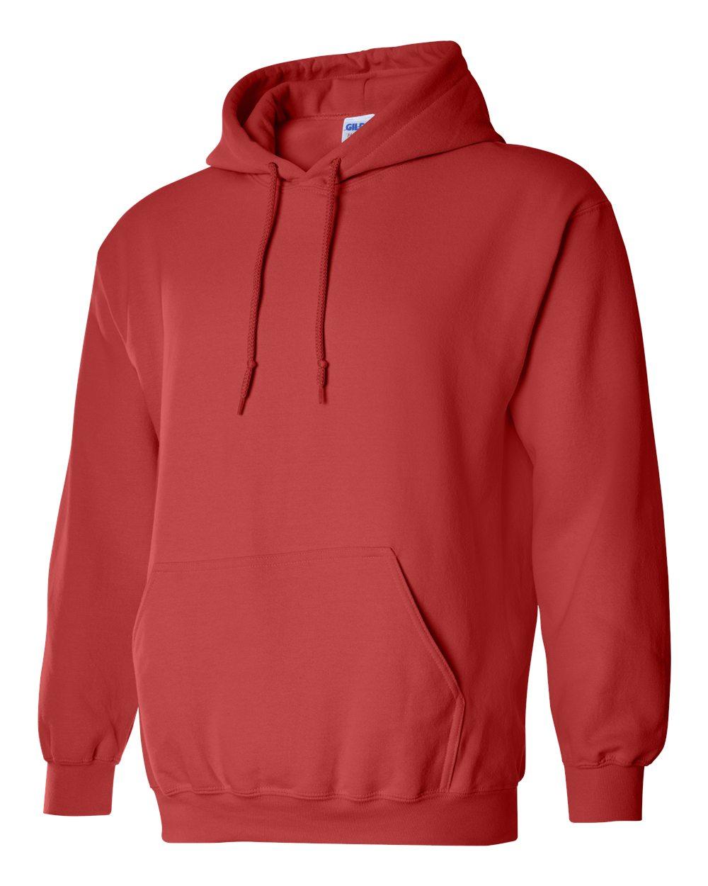 Gildan Heavy Blend Hooded Sweatshirt GI18500 Paprika