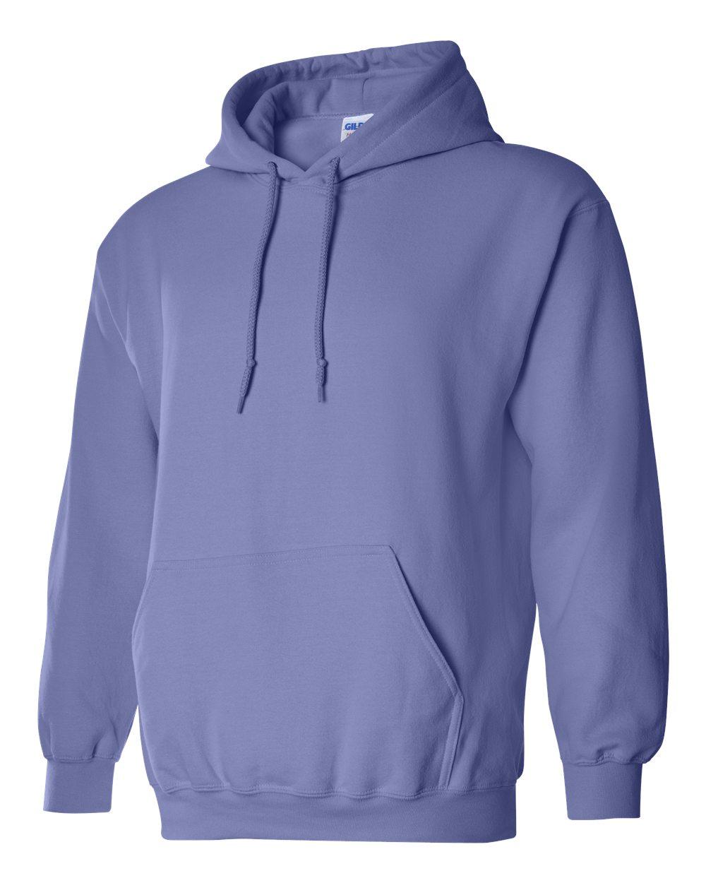 Gildan Heavy Blend Hooded Sweatshirt GI18500 Violet