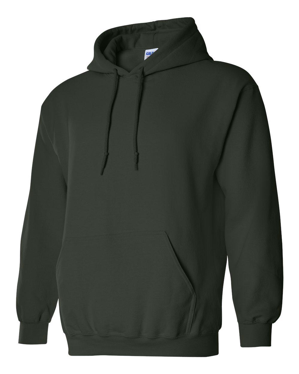 Gildan Heavy Blend Hooded Sweatshirt GI18500 Forest Green