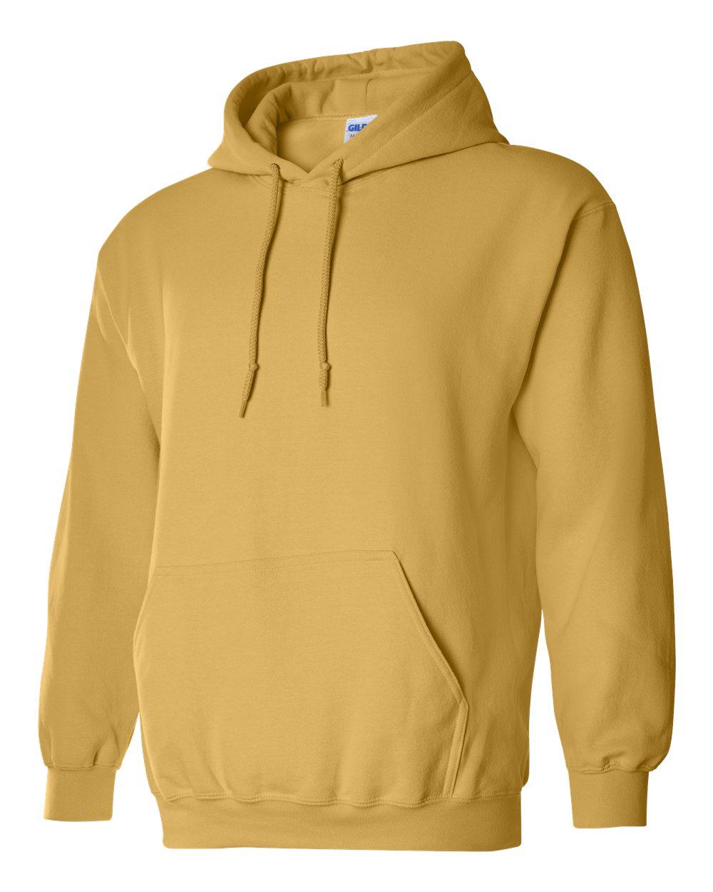 Gildan Heavy Blend Hooded Sweatshirt GI18500 Honey