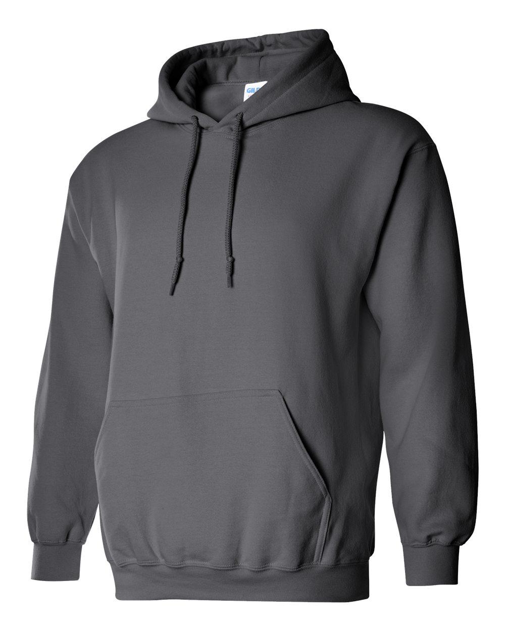 Gildan Heavy Blend Hooded Sweatshirt GI18500 Charcoal