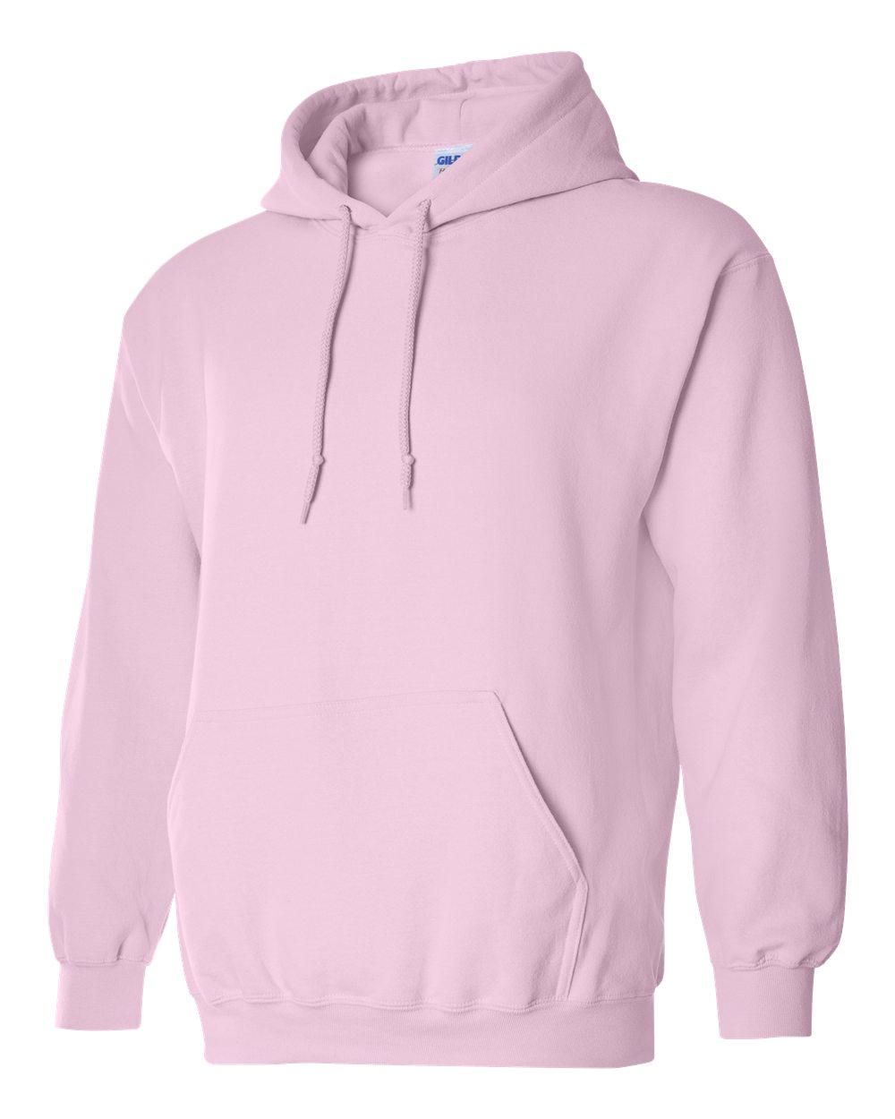 Gildan Heavy Blend Hooded Sweatshirt GI18500 Light Pink