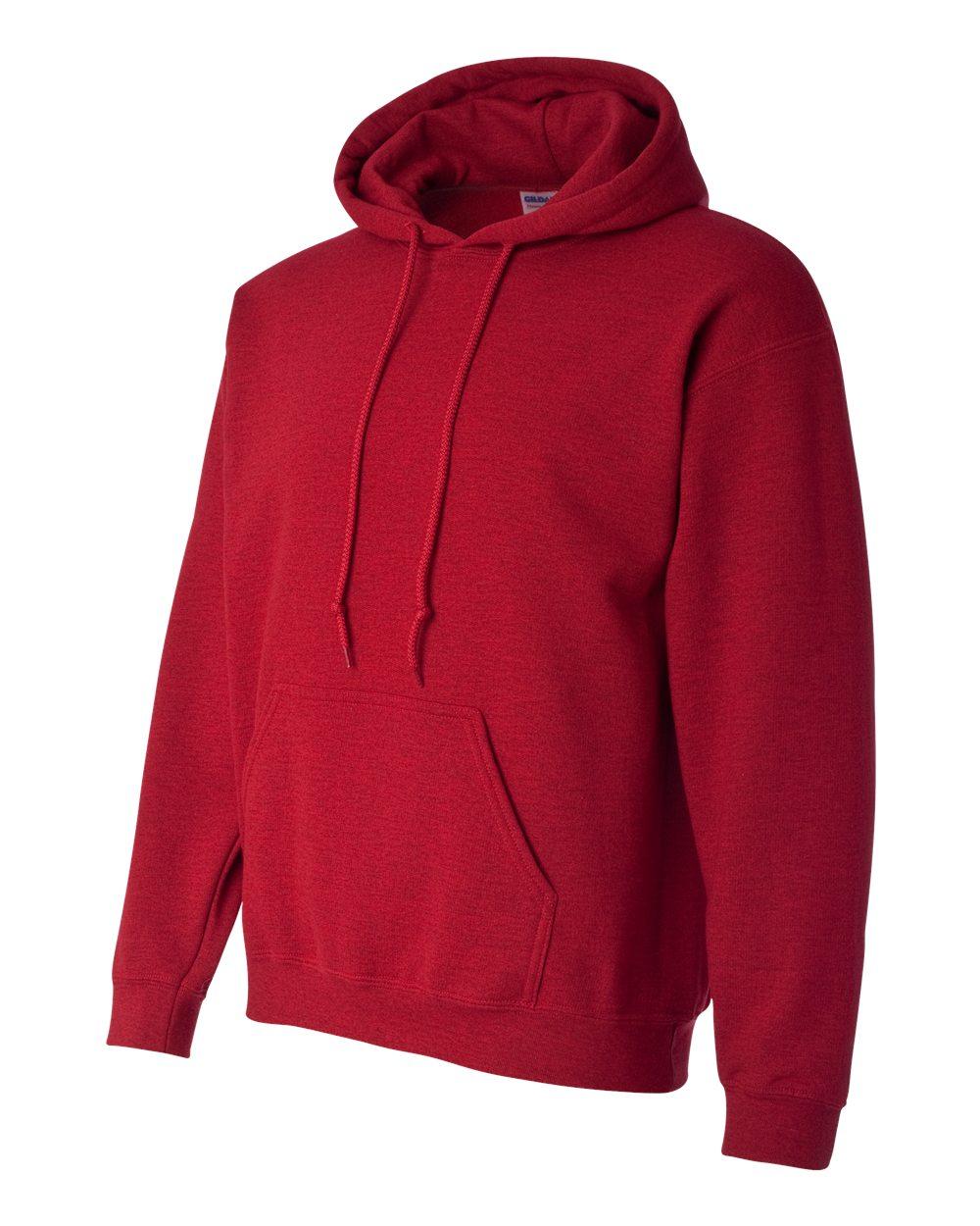 Gildan Heavy Blend Hooded Sweatshirt GI18500 Antique Cherry Red