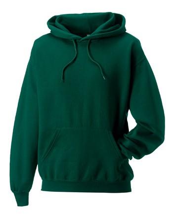 Russell Hoodie Sweater 9575M Bottle Green
