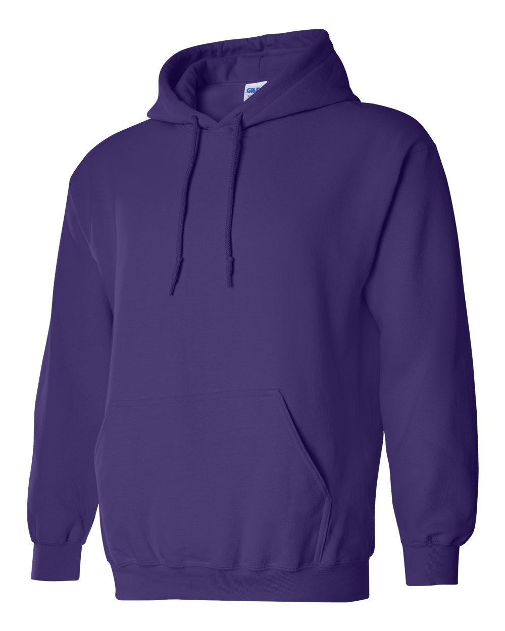 Gildan Heavy Blend Hooded Sweatshirt GI18500 Purple