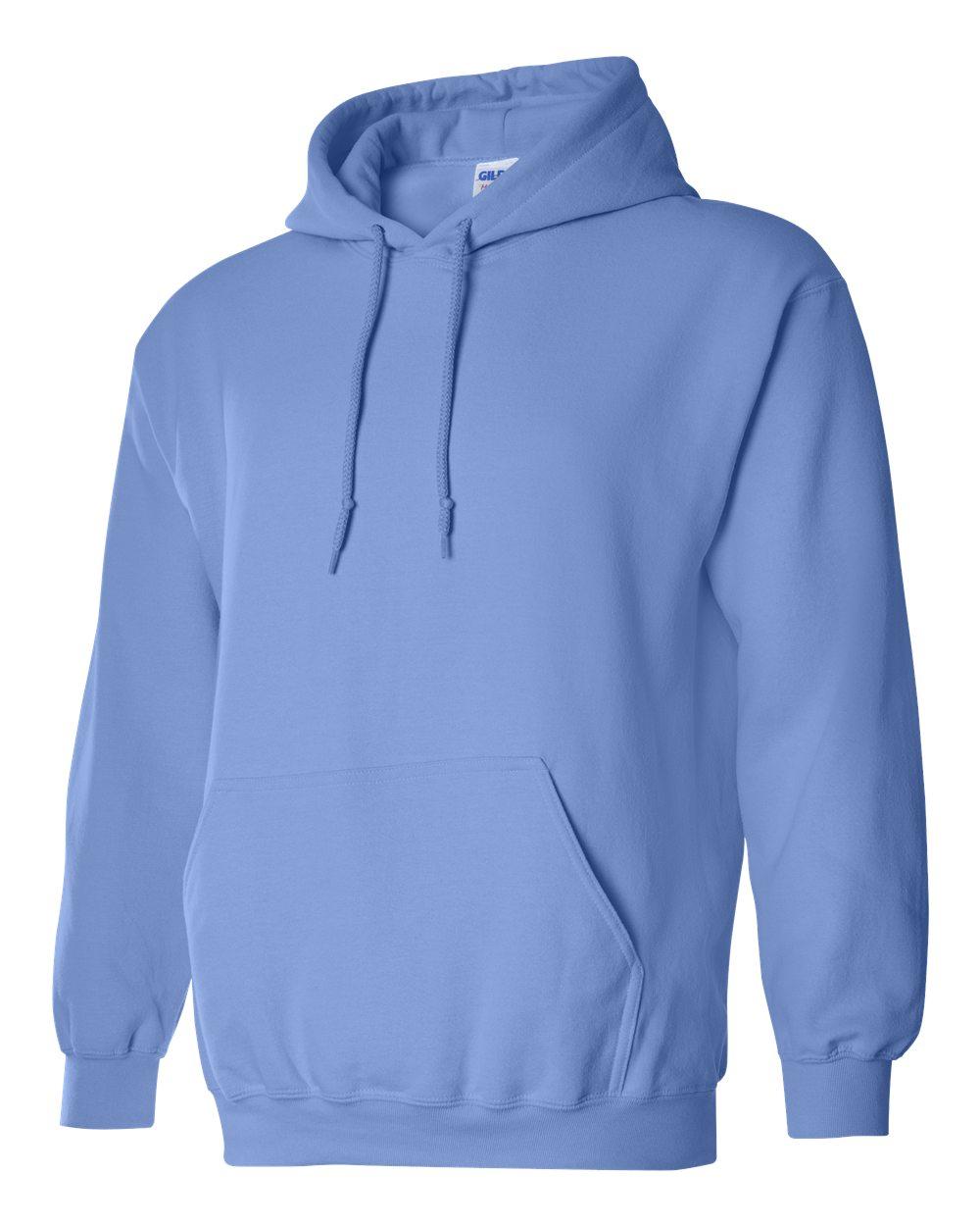 Gildan Heavy Blend Hooded Sweatshirt GI18500 Carolina Blue