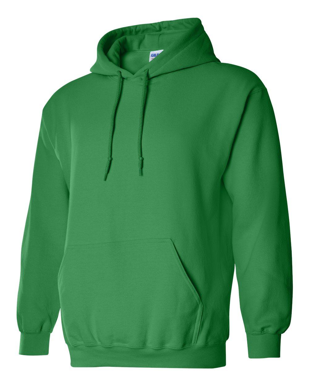 Gildan Heavy Blend Hooded Sweatshirt GI18500 Irish Green