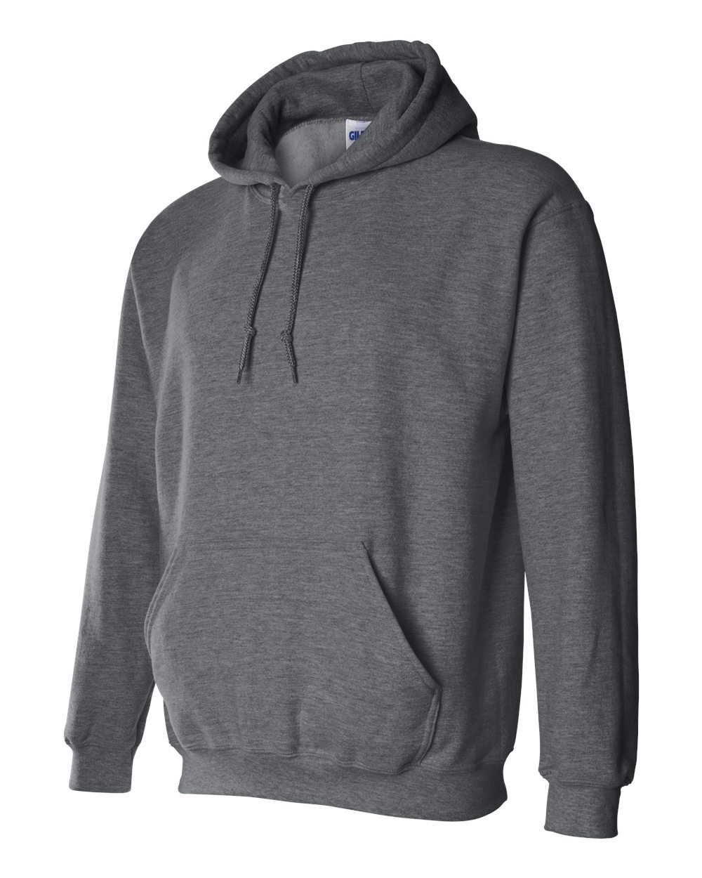 Gildan Heavy Blend Hooded Sweatshirt GI18500 Dark Heather Grey