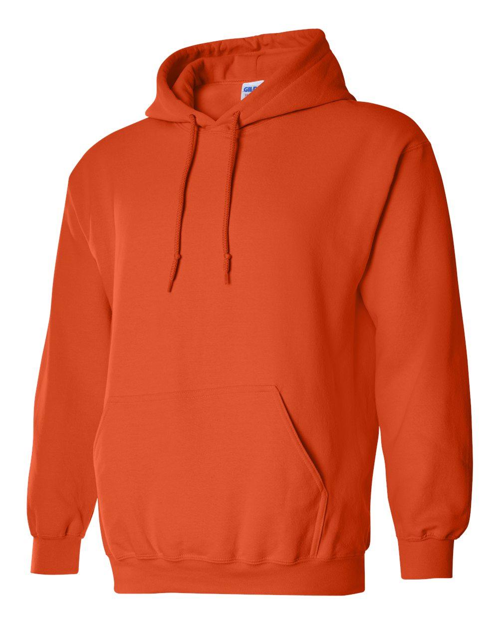 Gildan Heavy Blend Hooded Sweatshirt GI18500 Orange