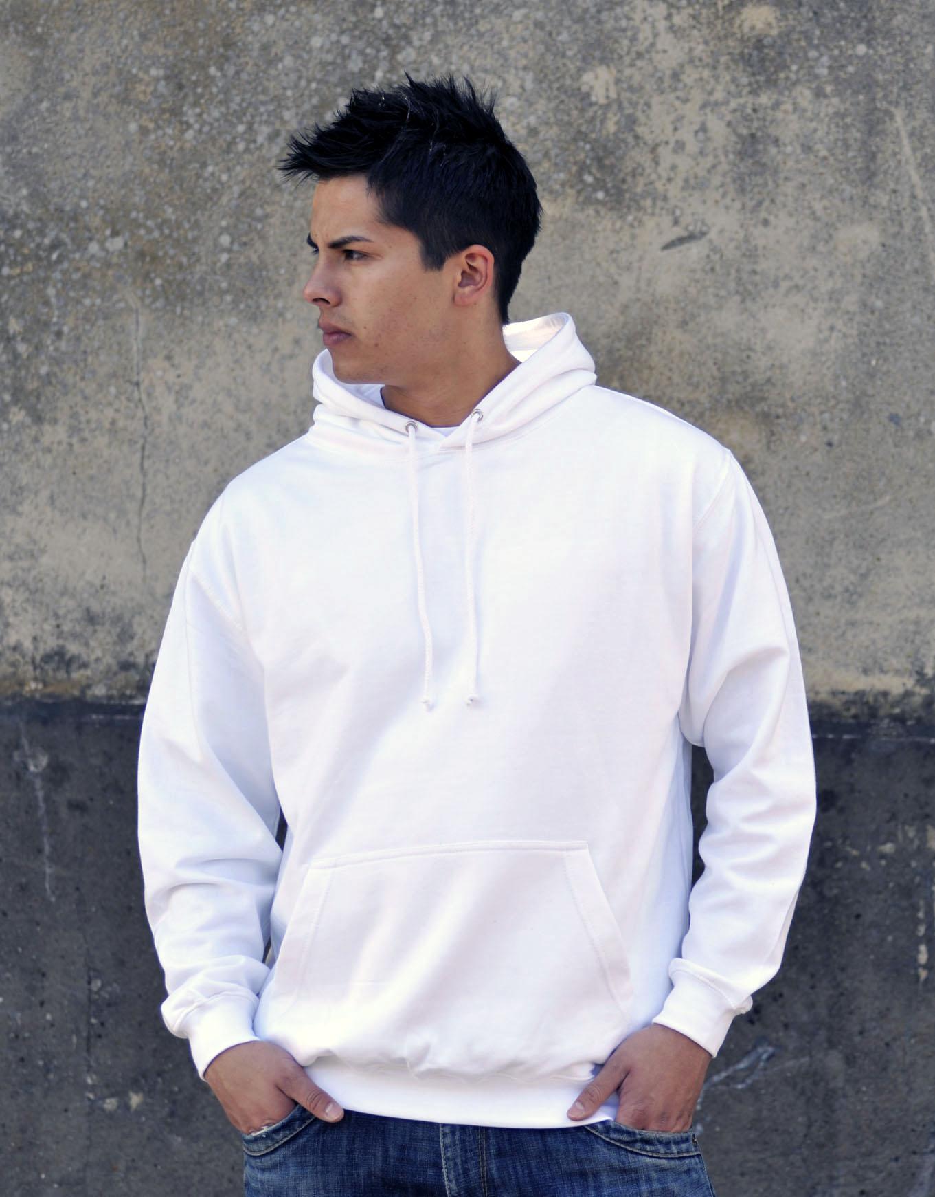 AWDis College Hoodie Arctic White