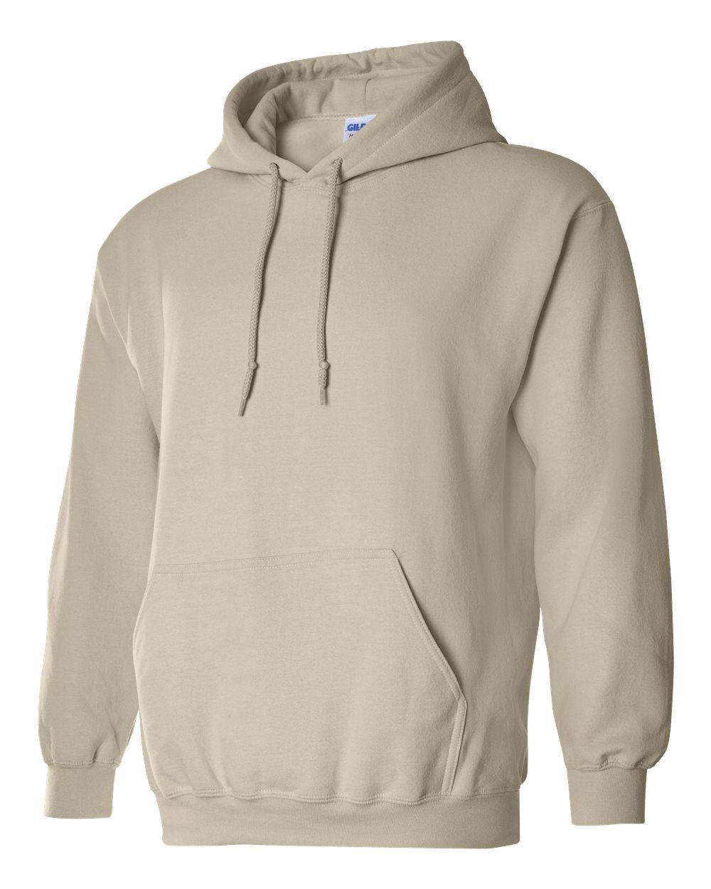 Gildan Heavy Blend Hooded Sweatshirt GI18500 Sand