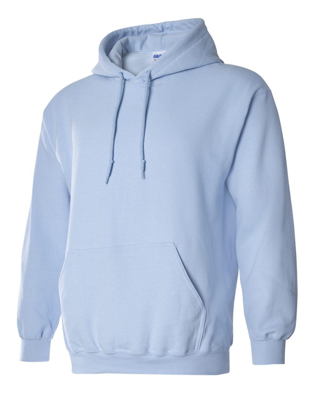 Gildan Heavy Blend Hooded Sweatshirt GI18500 Light Blue